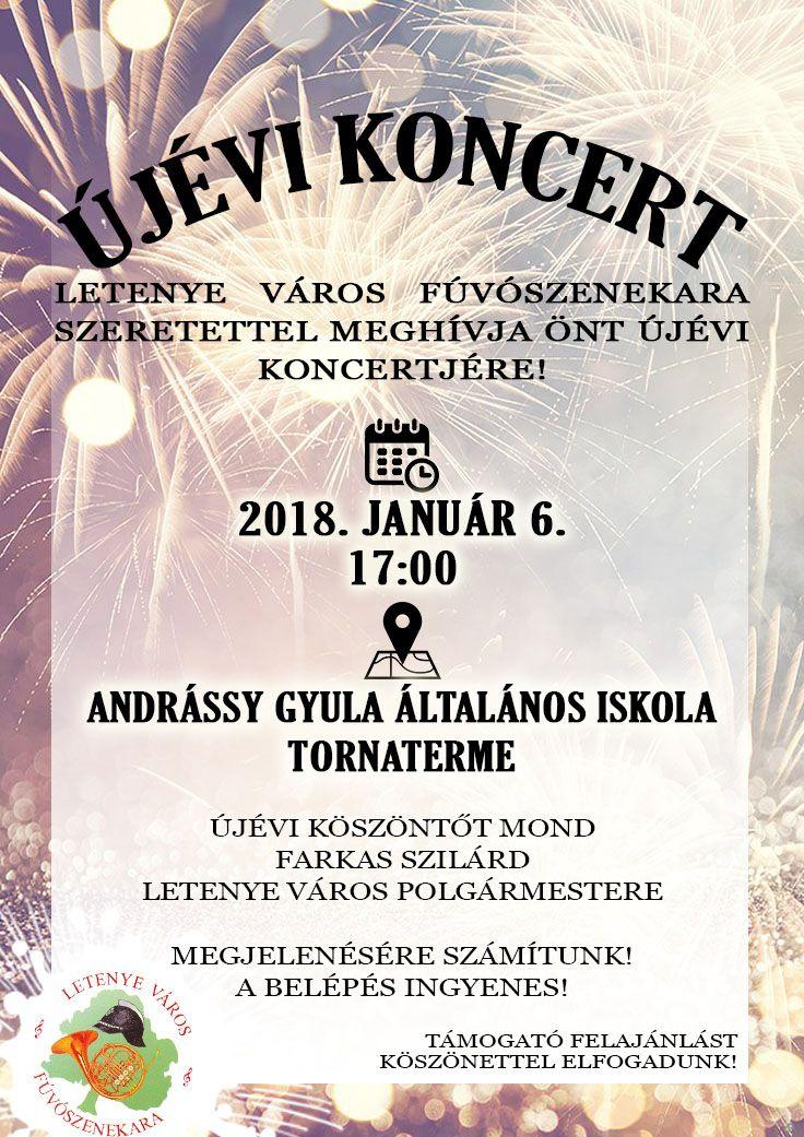 Nagyszabású letenyei újévi koncert