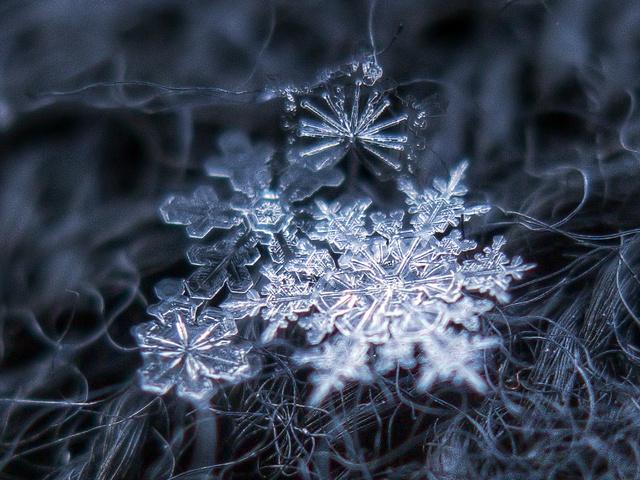 Lélegzetelállító hópelyhek