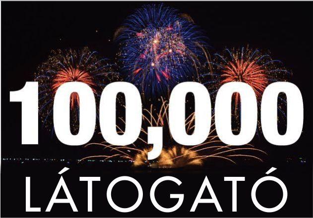 100.000 látogató