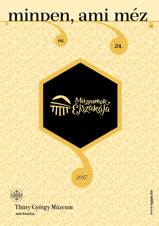 Múzeumok Éjszakája – Thúry György Múzeum