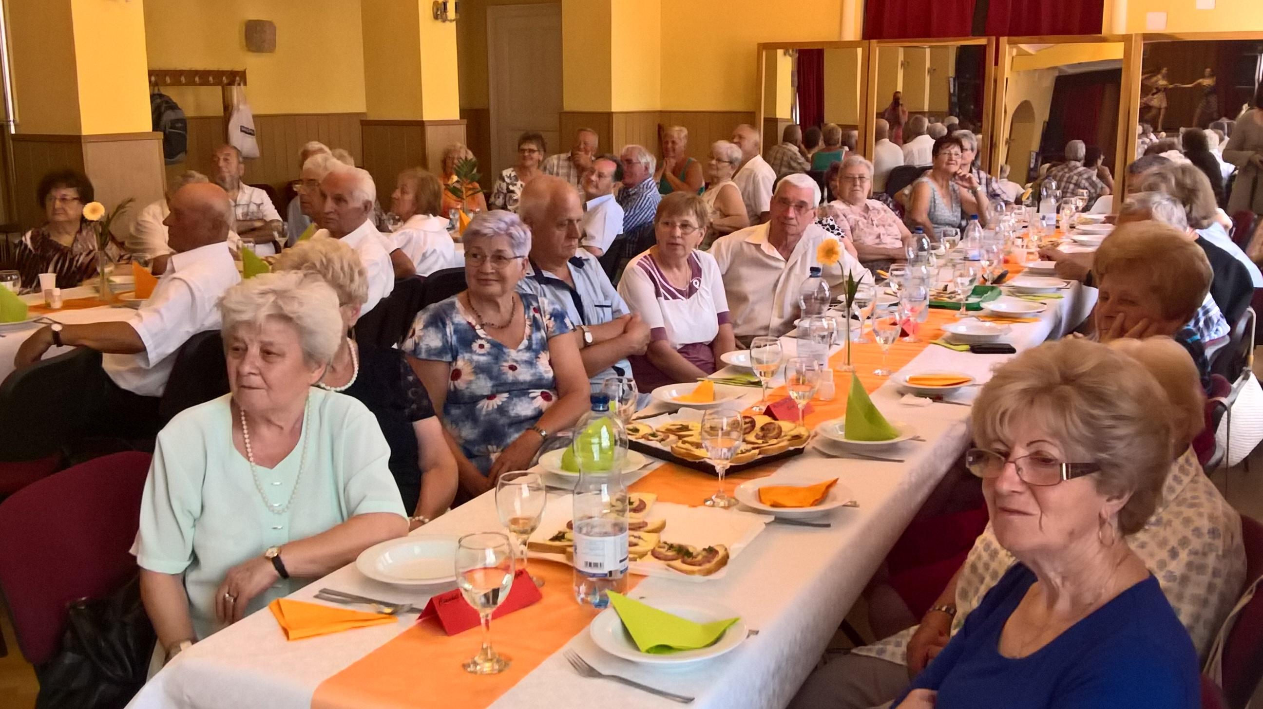 XIV. Dunántúli Vasutas Nyugdíjas Klubok Kulturális és Baráti Találkozója