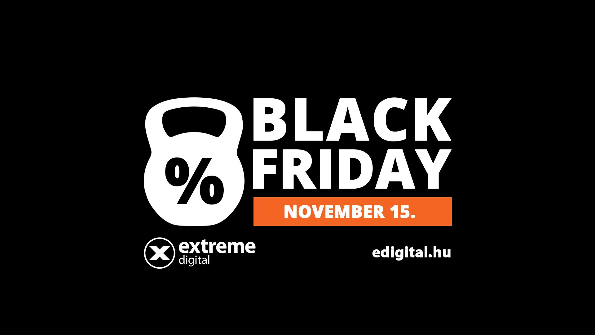 Jobban fogy a konzol, mint a szárítógép az Extreme Digital Black Friday-én