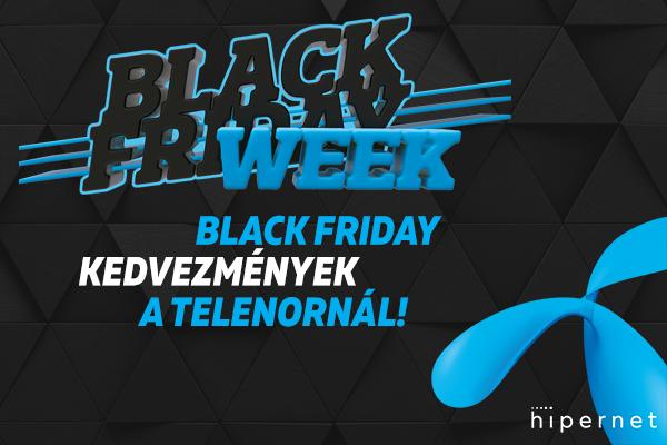 Okostelefonok, táblagépek és hasznos kiegészítők a Telenor Black Friday akciójában