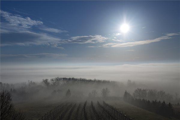 Köd Zala megyében