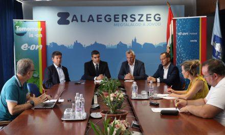 750 millió forintból fejleszti Zalaegerszeg áram- és gázhálózatát az E.ON