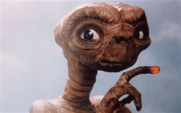 E. T., a földönkívüli