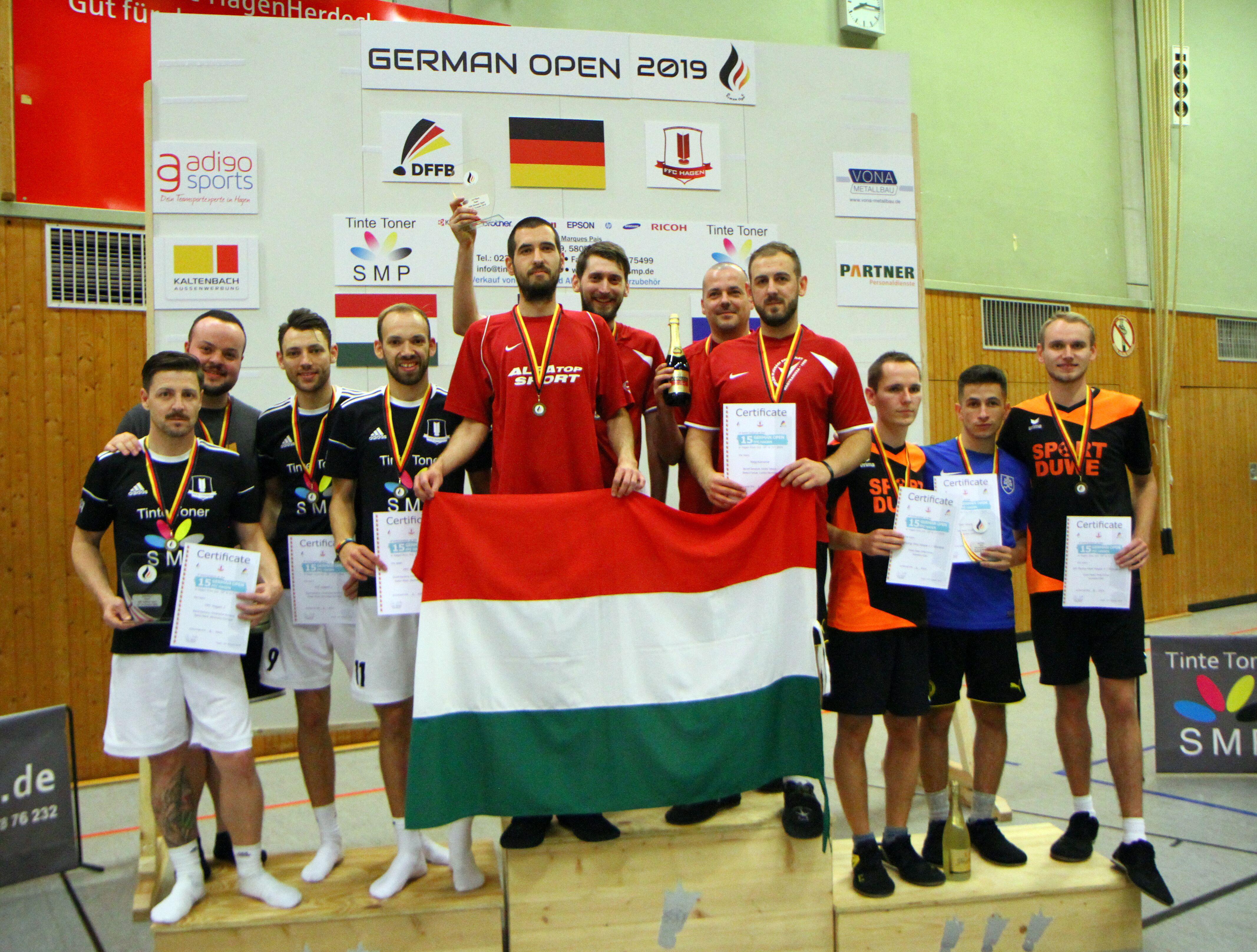 Kanizsai győzelem a German Openen