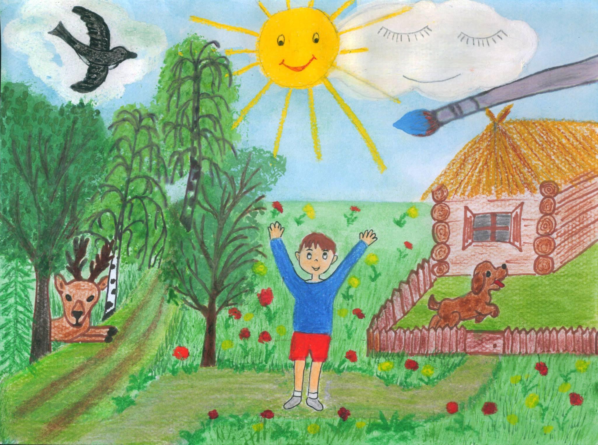 A Rozgonyi Úti Általános Iskola tanulóinak rajzkiállítása – május 30.