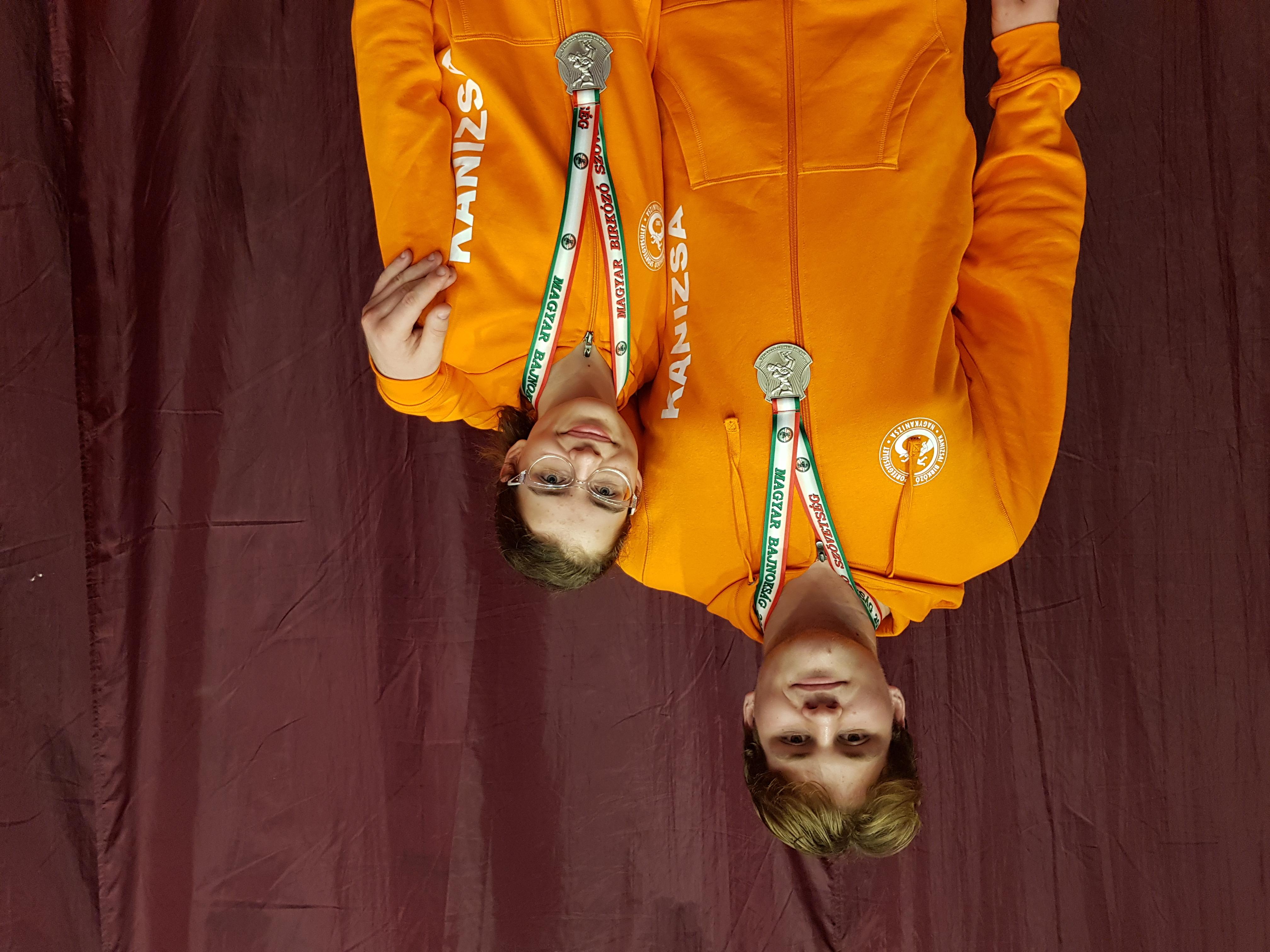 Két ezüst a Kadet Országos Birkózó Bajnokságról!
