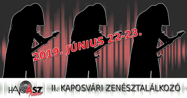 Programajánló: II. Kaposvári zenésztalálkozó – június 22-23.