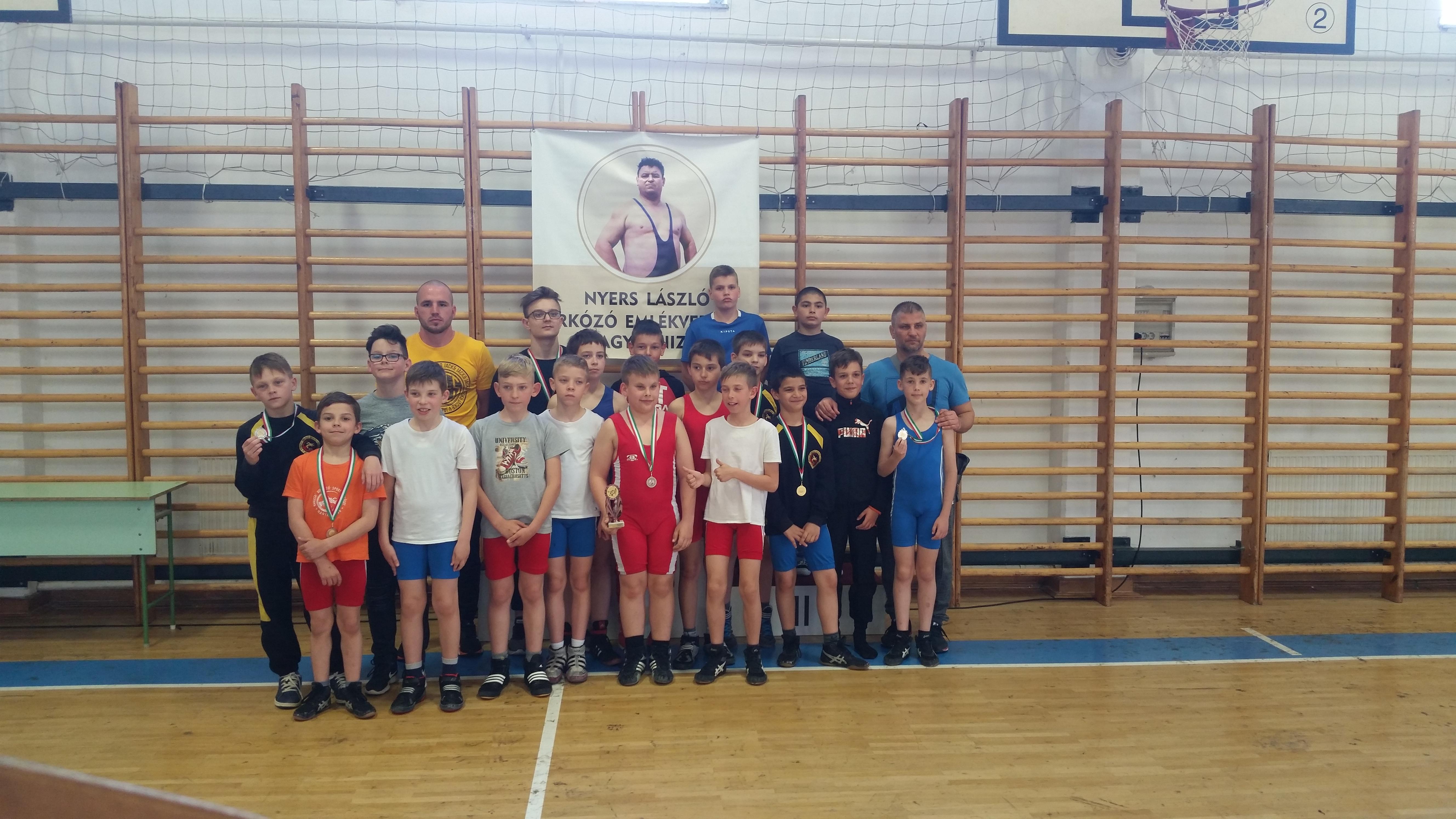 Nyers László birkózó emlékverseny, Diák Területi Bajnokság-Nagykanizsa