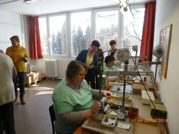 Intézménylátogatáson a Honvéd Kaszinó Hölgyklubja