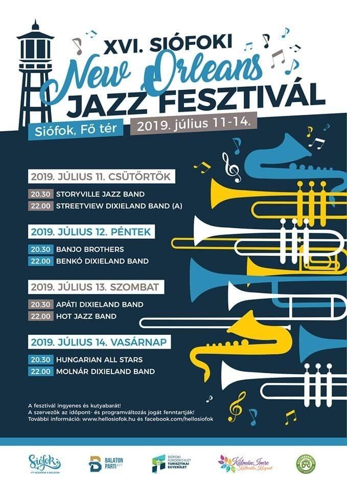 Programajánó: Siófoki New Orleans Jazz Fesztivál – július 11-14.