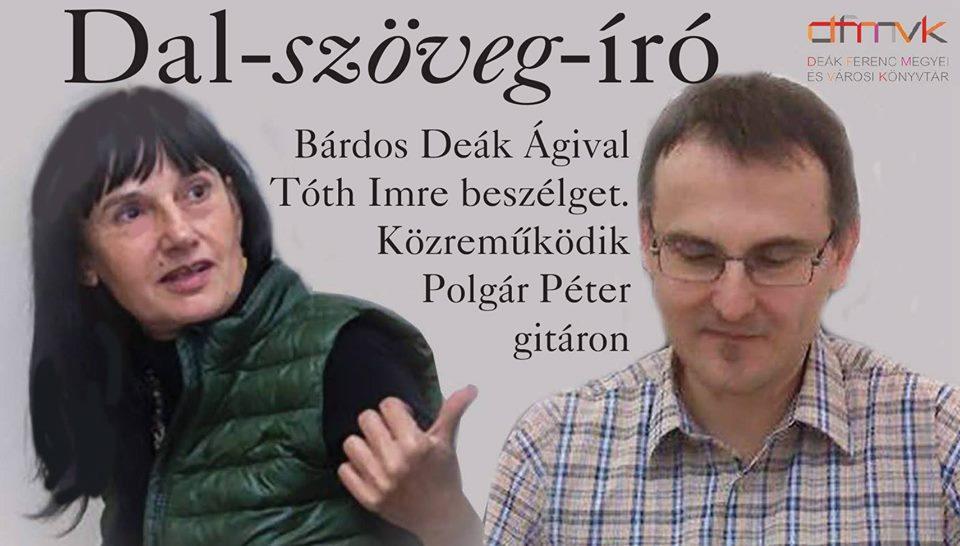 Programajánló: Dal-szöveg-író – Zalaegerszeg – június 17.
