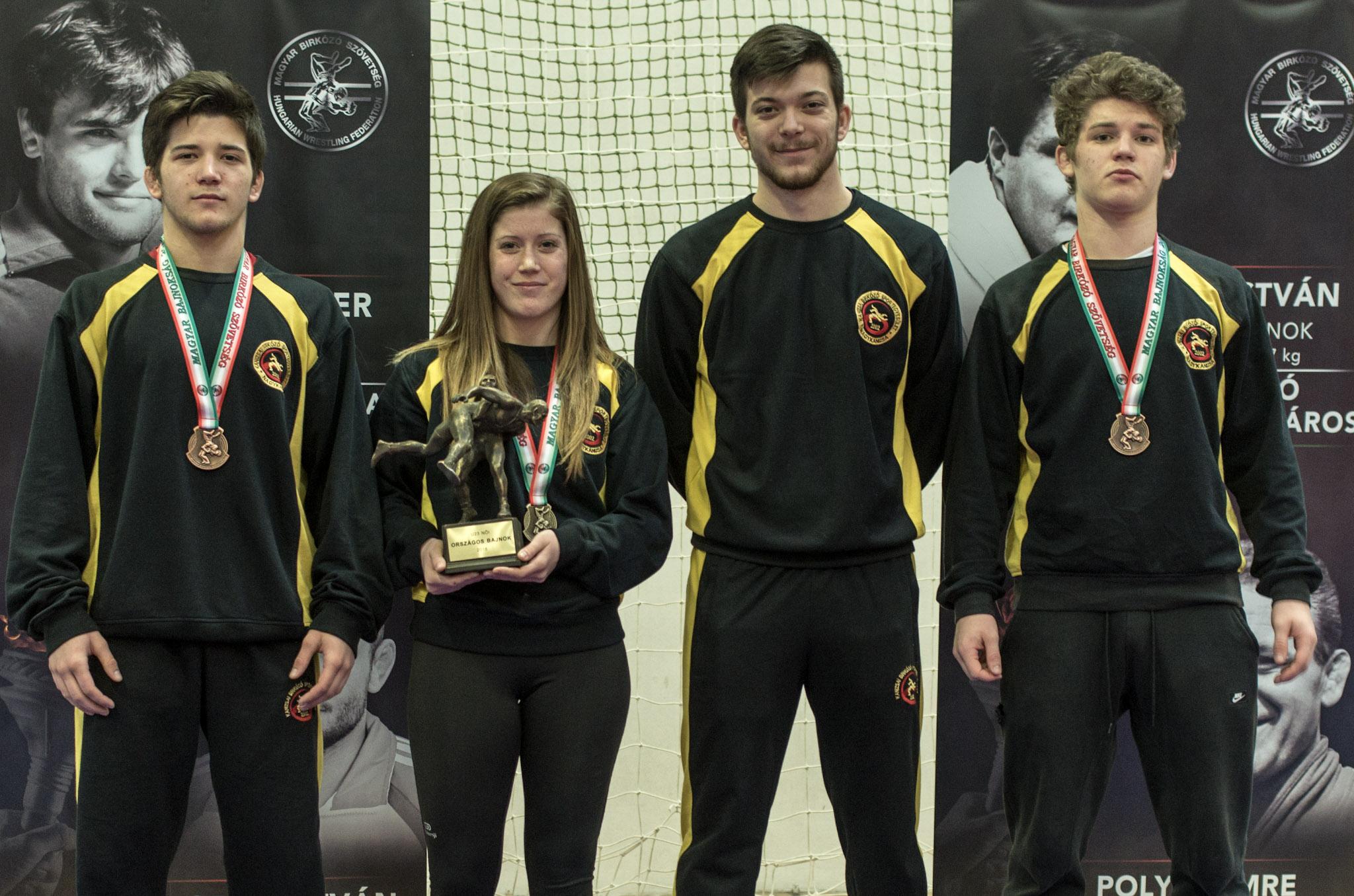 Egyed Zsanett arany érmes az U23 országos bajnokságon!