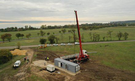 Innovatív energiatárolót telepített Zánkán az E.ON