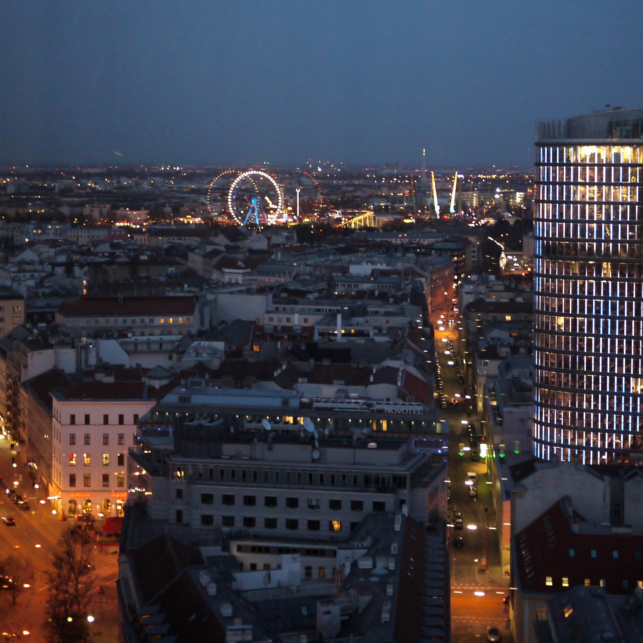 Bécs városa a fényszennyezés ellen