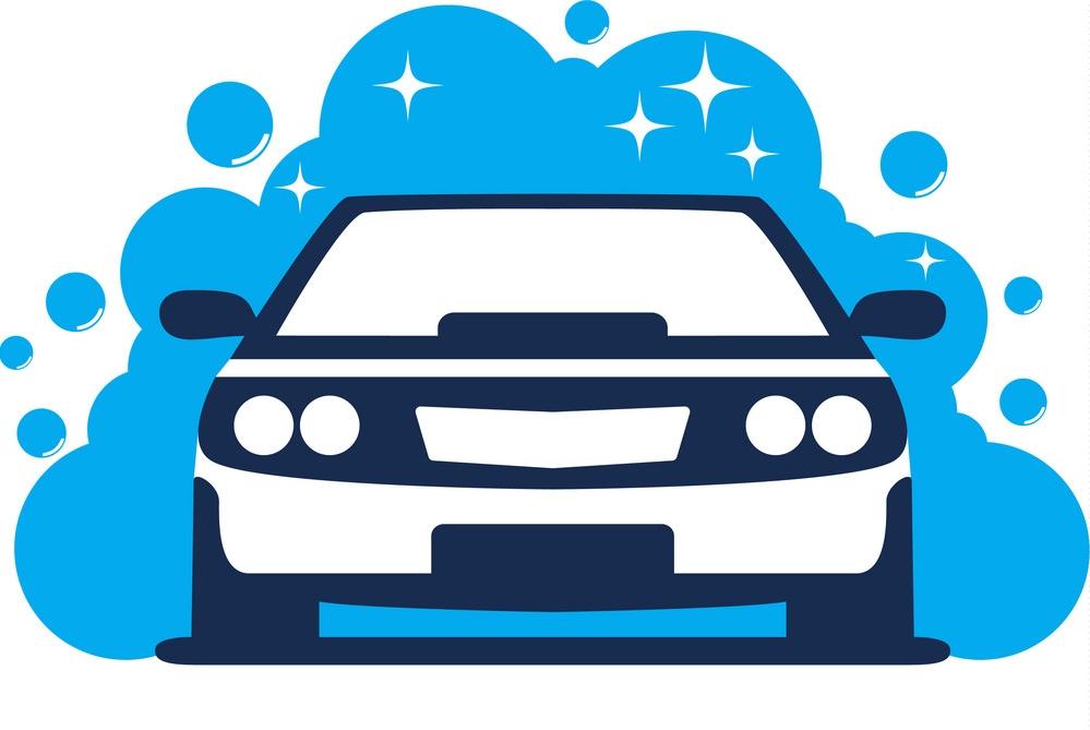 Buborék kézi autómosó hirdetése