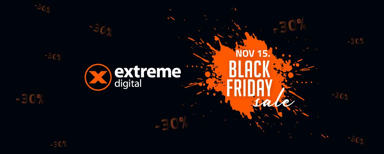 Az Extreme Digital egyik vásárlója egy teljes lakás berendezését a Black Friday-en vette meg