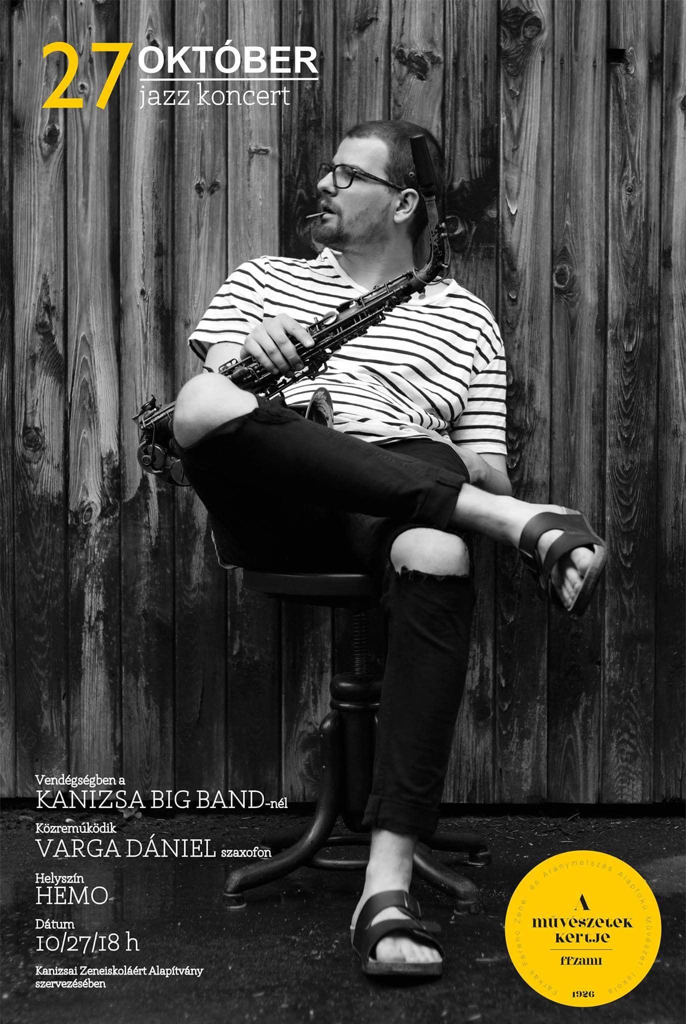 Vendégségben a Kanizsa Big Band-nél