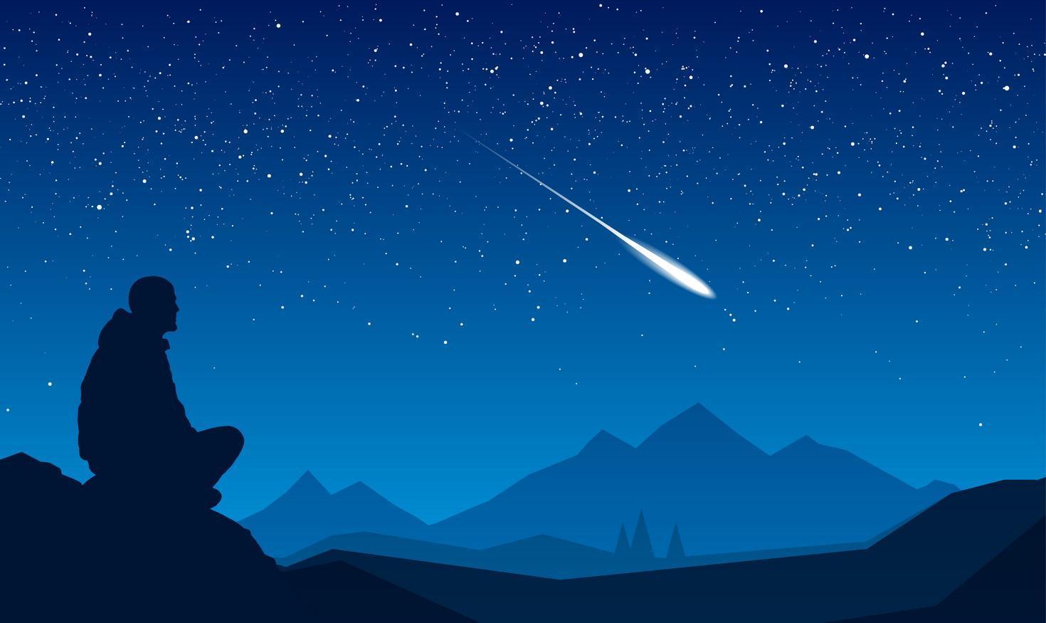 Csillaghullás nézés Kaszón