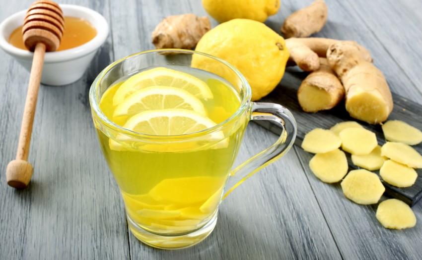 Igyunk gyömbért citrommal!