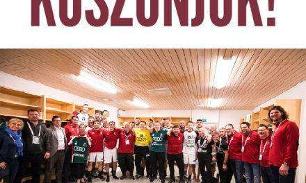 Férfi kézilabda Európa-bajnokság – Hajrá Magyarok!
