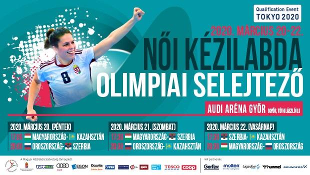 A Magyar Kézilabda Szövetség Elnökének Közleménye:zárt kapus lesz a női olimpiai selejtező!
