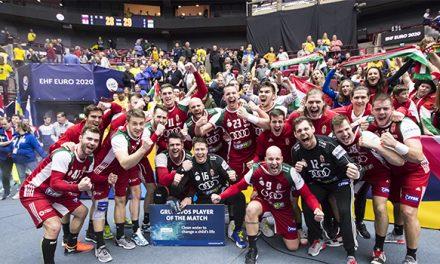 Férfi kézilabda Európa-bajnokság – Szenzációs második félidő, nyert a magyar válogatott!