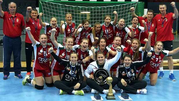 Kézilabda – Leány nyílt Eb: aranyérmes a magyar U16 -os válogatott!