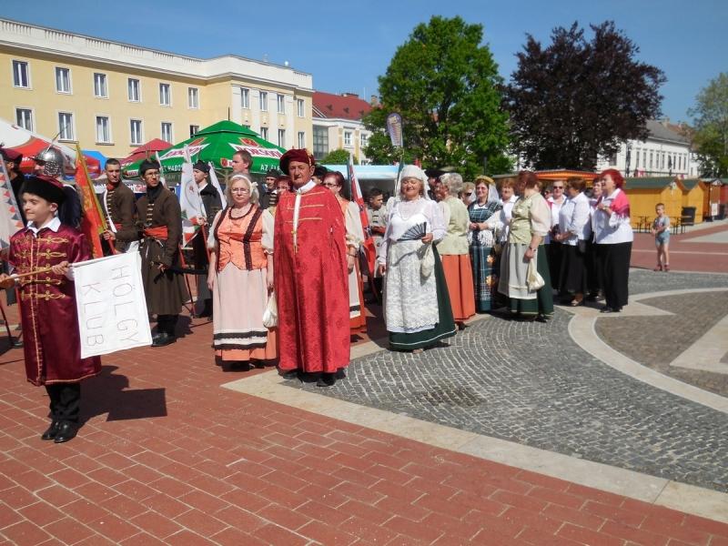 Honvéd Kaszinó Hölgyklubja a Város Napján