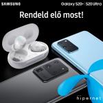 A Telenornál is előrendelhetők a Samsung Galaxy új csúcskészülékei