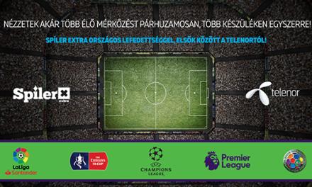 Népszerű nemzetközi focibajnokságokat is elérhetővé tesz a Telenor MyTV