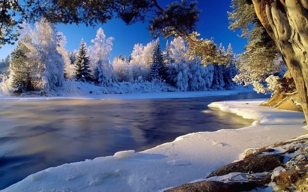 Téli folyó