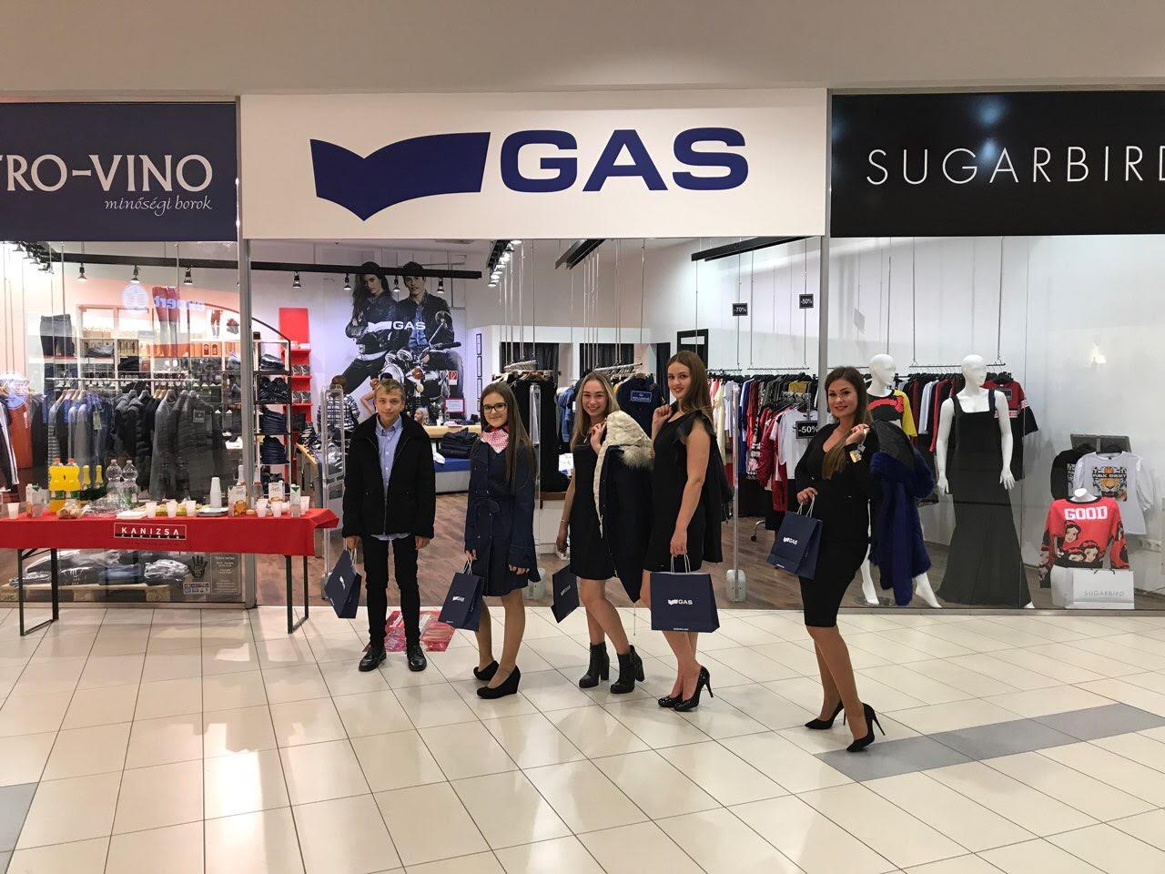 Kanizsa Centrum flashmob divatbemutató