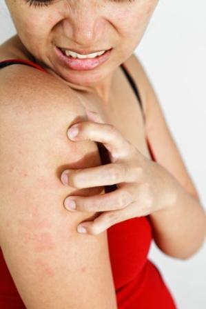 A lisztérzékenység tünetei a bőrön